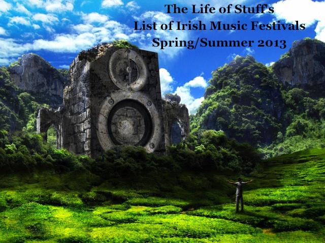 1Irish Music Festivals SrpingSummer 2013