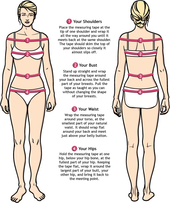 Dress Sizing Guide