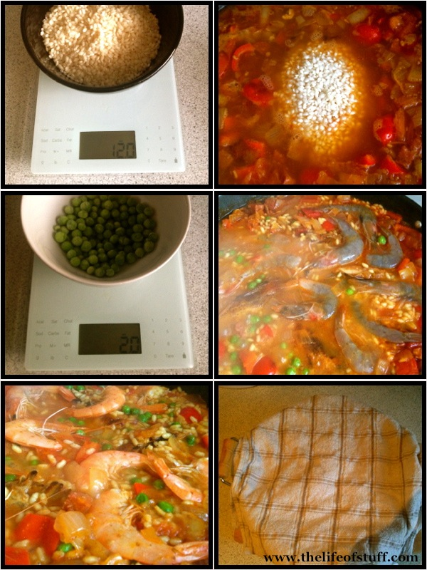 The Life of Stuff   Personal and Irish Lifestyle Blog: Paella Part 2 Delia Smiths   Paella