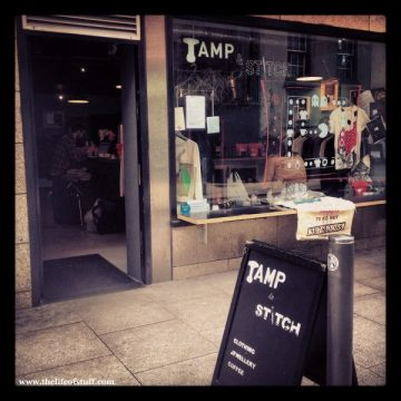 Tamp and Stitch, Temple Bar, Dublin