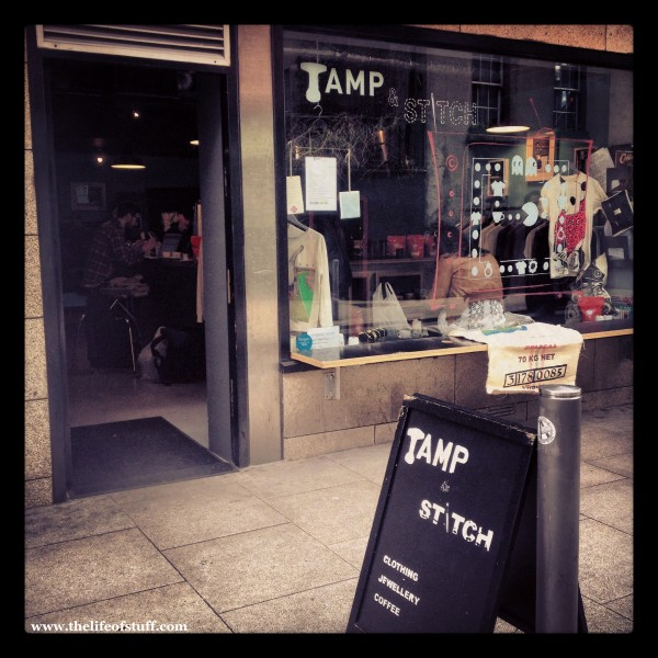 Tamp & Stitch