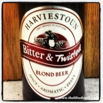 Bevvy of the Week – Harviestoun Bitter & Twisted