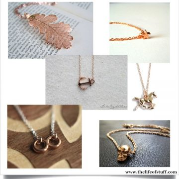 Fashion Fix – Rose Gold, Gold and Silver Necklaces