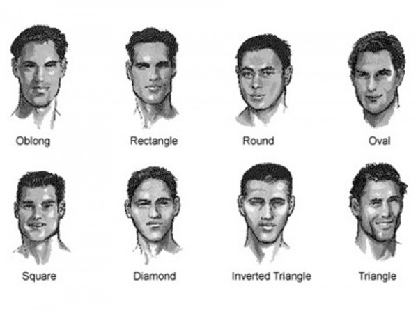 Men hair styles and facial structure