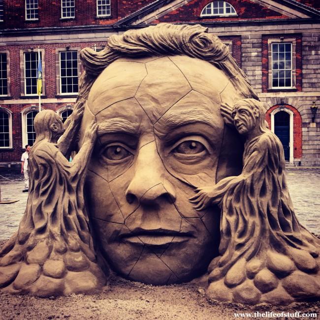 Sand Sculpture Dublin Castle e1376777205560