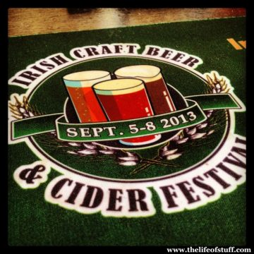 My Irish Craft Beer and Cider Festival 2013 in Photo's