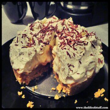 Quick and Easy Banoffee Pie with Glenisk Organic Cream