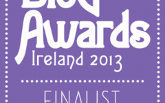 Blog Awards Ireland  Finalist 2013