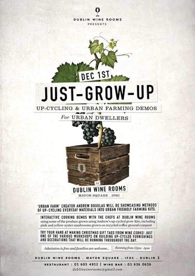 Just Grow Up At The Dublin Wine Rooms The Life Of Stuff