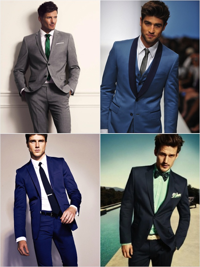 Non Tradional Wedding Suit