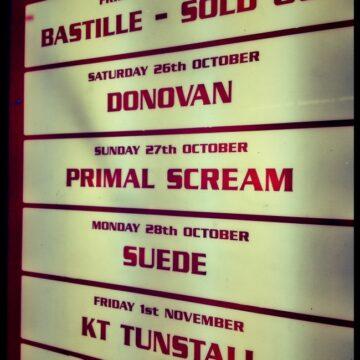 Primal Scream, The Olympia Theatre, Dublin, 2013 in Photo's