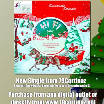 Snowsmoke Serenade Christmas 2013 Charity Single from 79Cortinaz