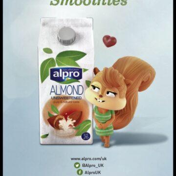 AlproAM (Alpro Almond Mornings) Challenge January 2014