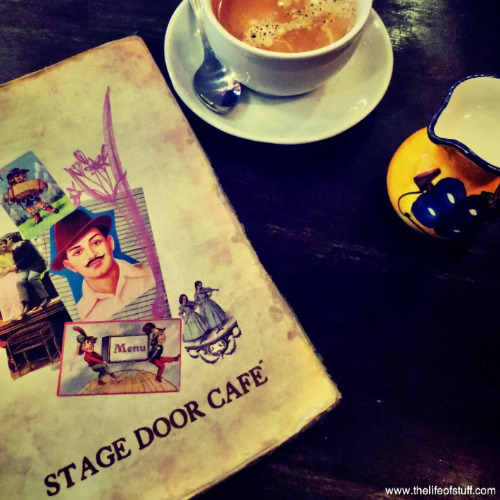 Coffee at Stage Door Cafe