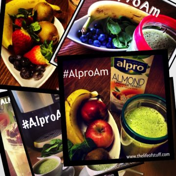 My #AlproAM Challenge – Smoothie Recipe's Included