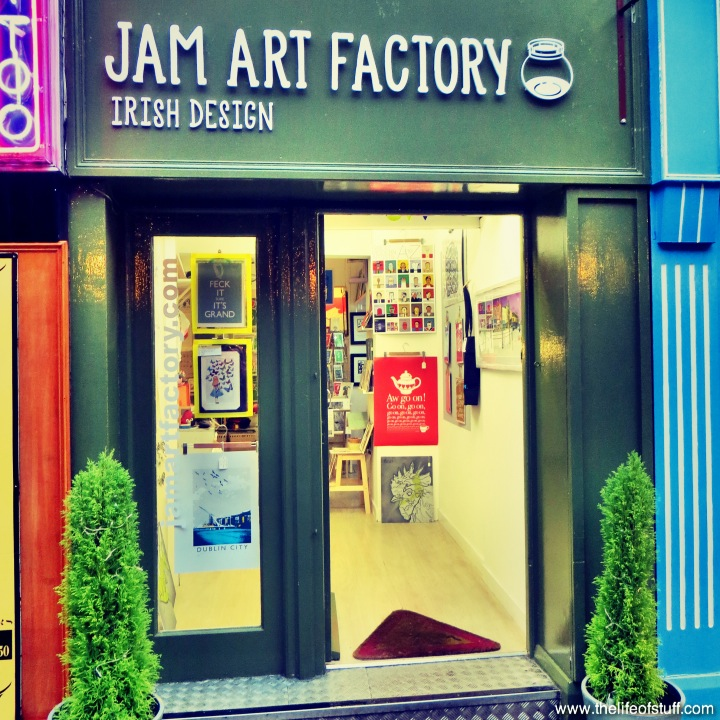 Jam Art Factory - Irish Design