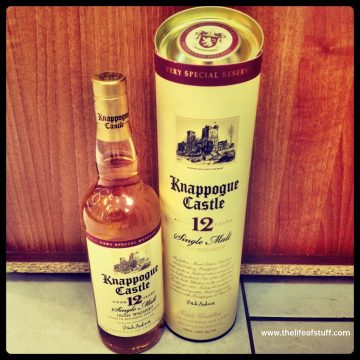 Bevvy of the Week – Knappogue Castle Aged 12 Years Single Malt Irish Whiskey