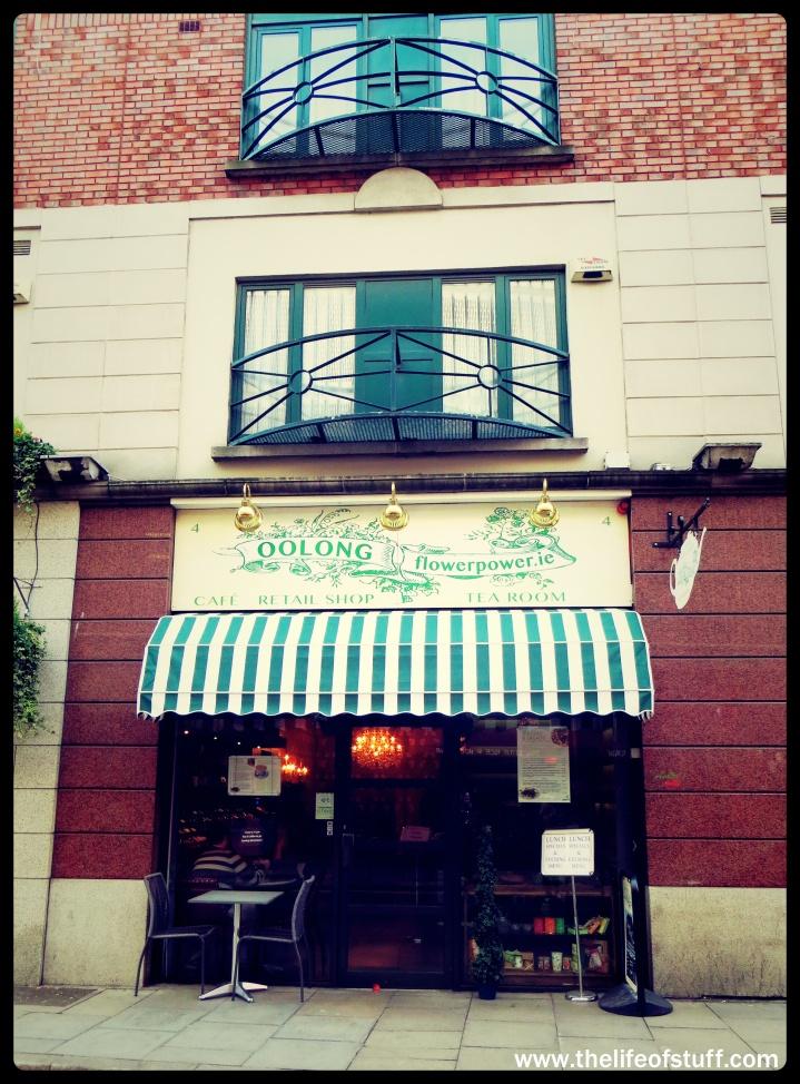 Oolong Flower Power Cafe Retail Shop Tea Room