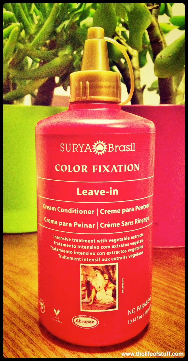 Surya Brasil Color Fixation Leave In Cream Conditioner