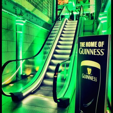 My Guinness Storehouse night in photo's – Food, Drink and live music from The Coronas