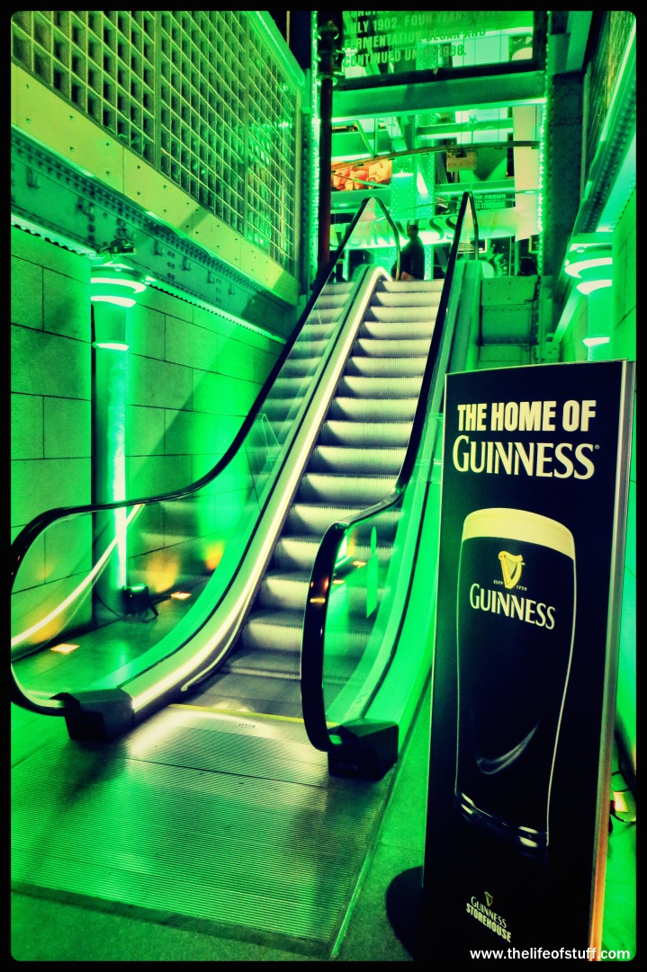 The Guinness Storehouse - Food, Drink and The Coronas for St. Patrick's Weekend 2014