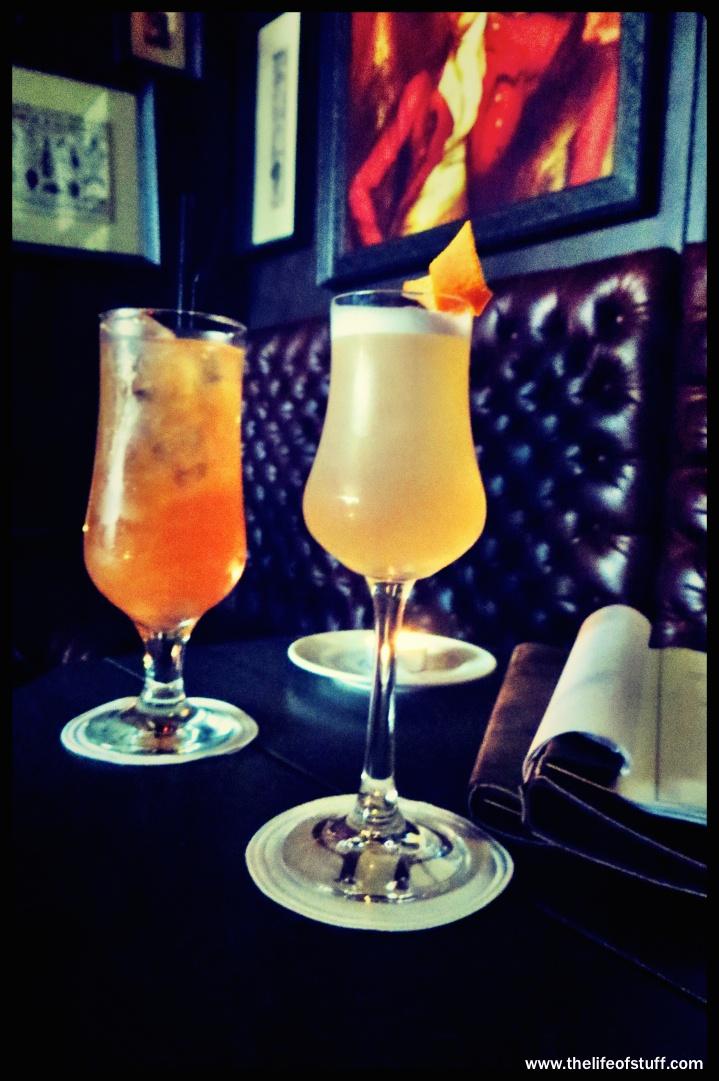 Dawson Street Drinks Menu