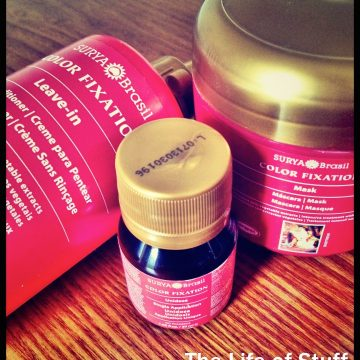 Win Surya Brasil Color Fixation Conditioner and Masks