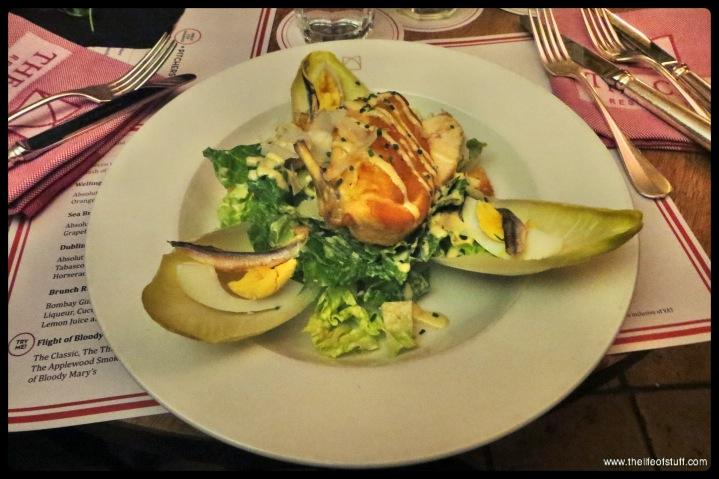 The Cellar Bar - The Merrion Hotel - Dublin - Caesar Salad-1