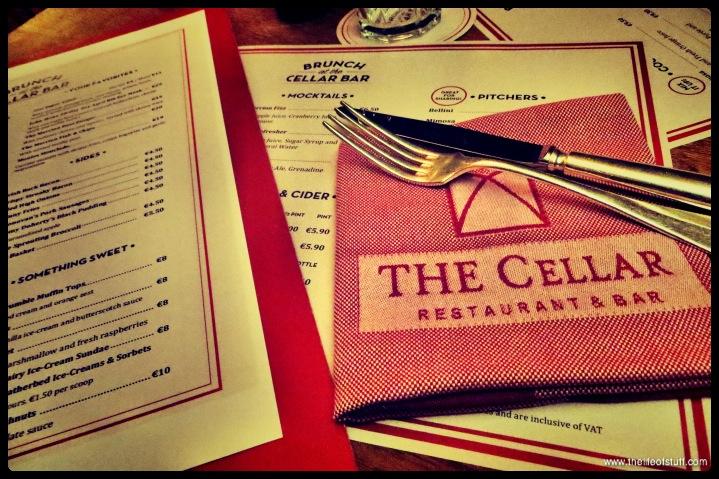 The Cellar Bar - The Merrion Hotel - Dublin - Menu-1