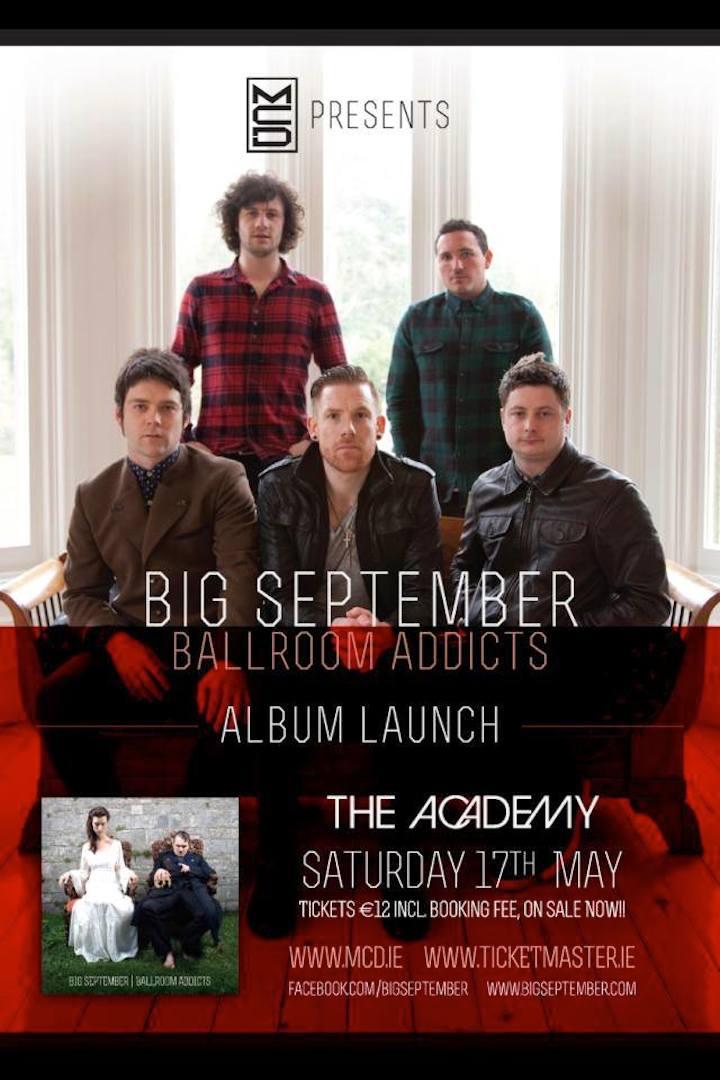 Big September - Album Launch - Ballroom Addicts