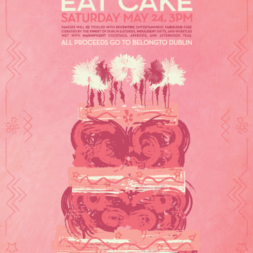 Yelp and 9 Crow Street's Let Them Eat Cake in aid of BeLongTo