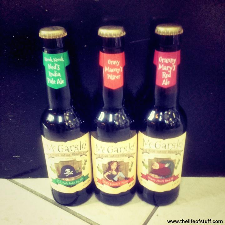 Bevvy of the Week - McGargles Irish Brews