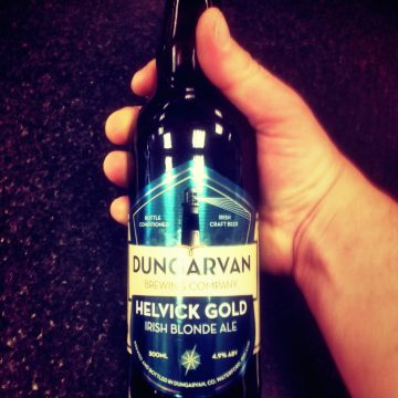 Bevvy of the Week – Dungarvan Brewing Company – Helvick Gold