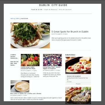 Groupon Guide Dublin & The Life of Stuff - Food & Drink