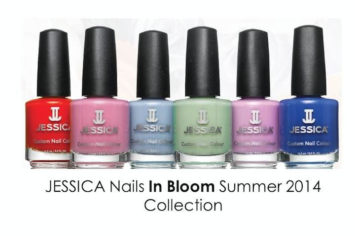 in Bloom with Jessica Nails for Summer 2014