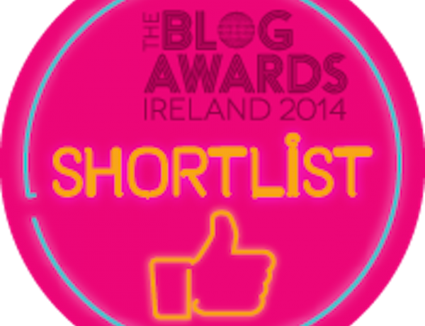 The Life of Stuff Shortlisted for the Blog Awards Ireland 2014