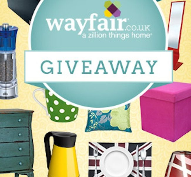 Competition Time: Win a £150 Gift Voucher from Wayfair