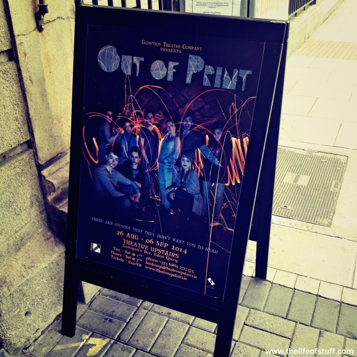 Out of Print - Theatre Upstairs