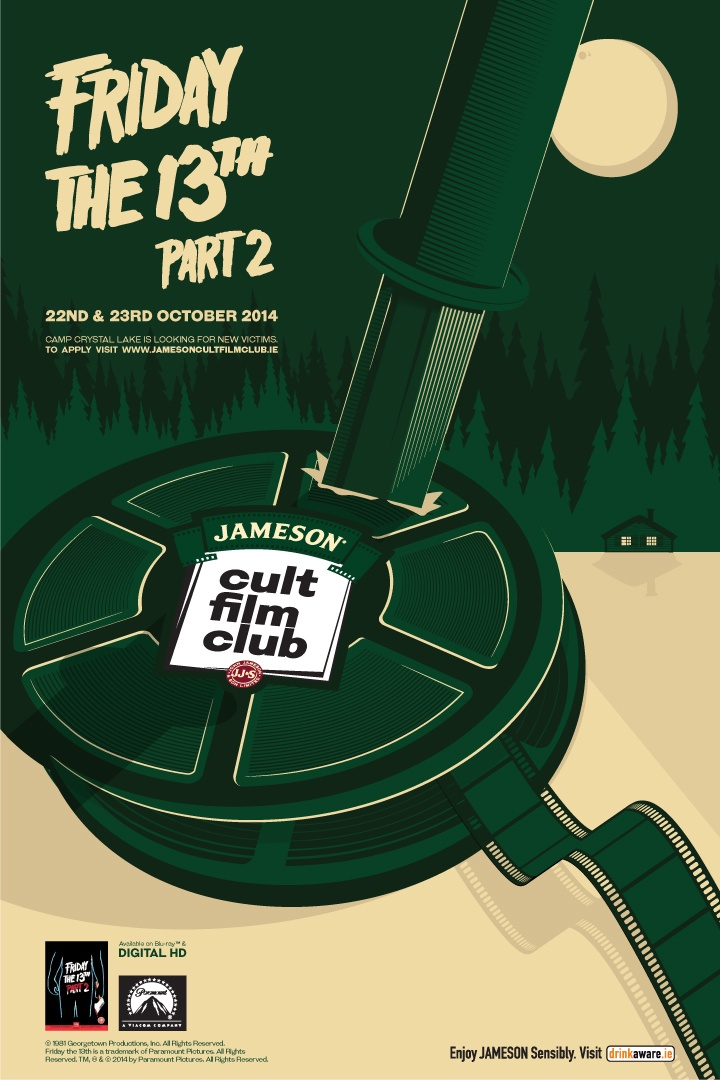Win Tickets to the Jameson Cult Film Club Screening of Friday The 13th