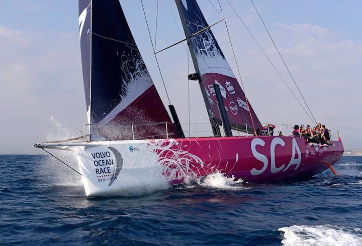 Real Girl Power - All-Female Team SCA in The Volvo Ocean Race