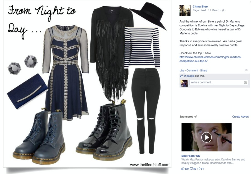 My Dr Martens Boots Style Creation and China Blue Shoes
