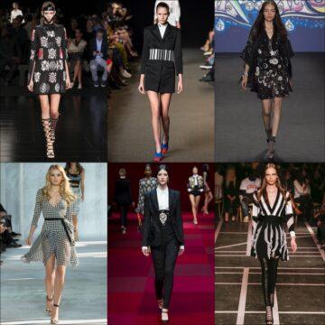 Fashion Fix – Summer Monochrome – High Street Fashion 2015