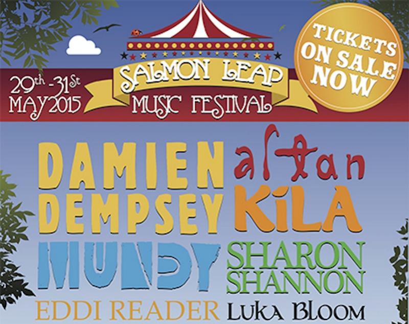 Salmon Leap Festival, Kildare, 29th - 31st May 2015