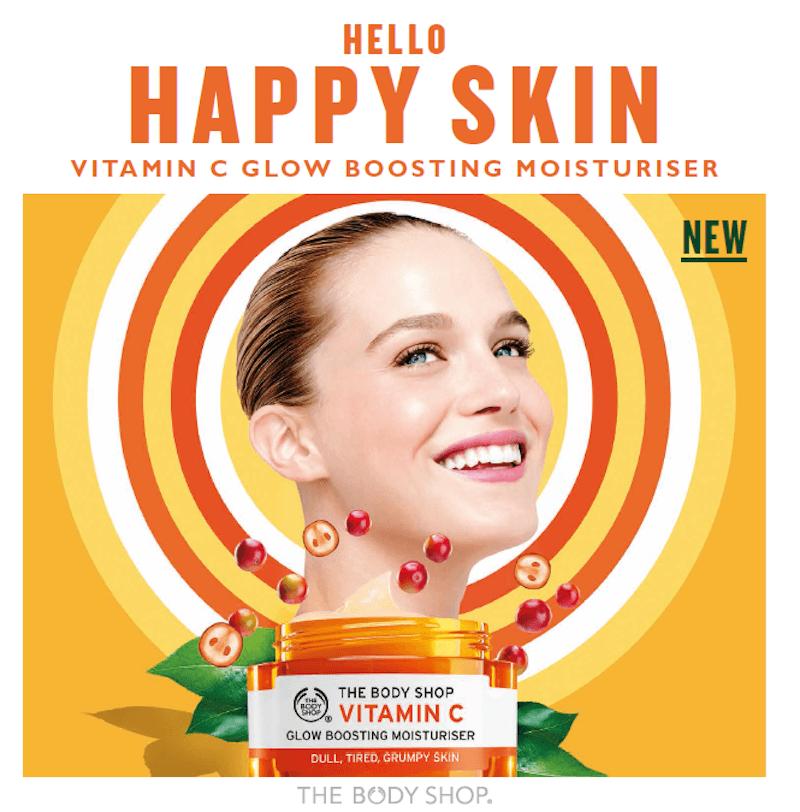Beauty Fix - The Body Shop's New Vitamin C Glow Range