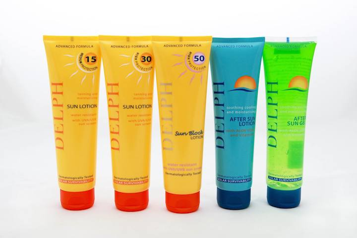 Win ONE of TWO Delph Sun Care Sets