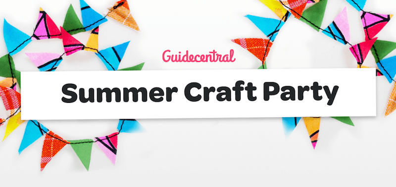 GuideCentral Summer Craft Party, June 27th 2015, Dublin