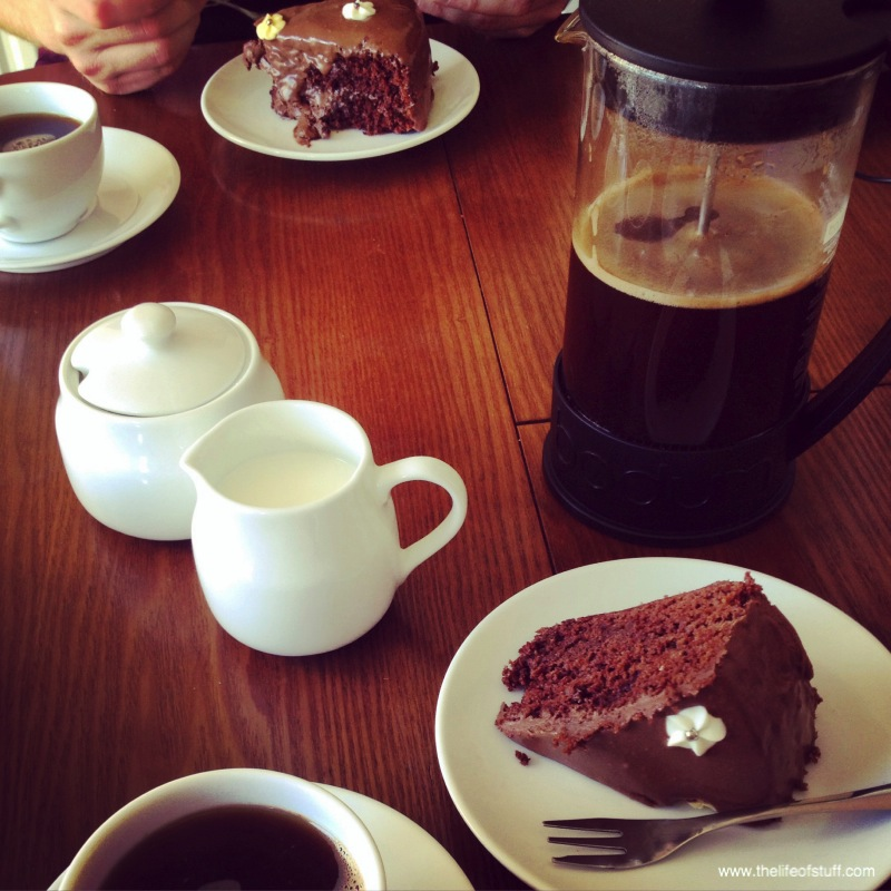 Nigella Lawson's - Old Fashioned Chocolate Cake