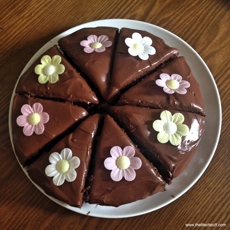 Nigella Lawsonu0027s   Old Fashioned Chocolate Cake