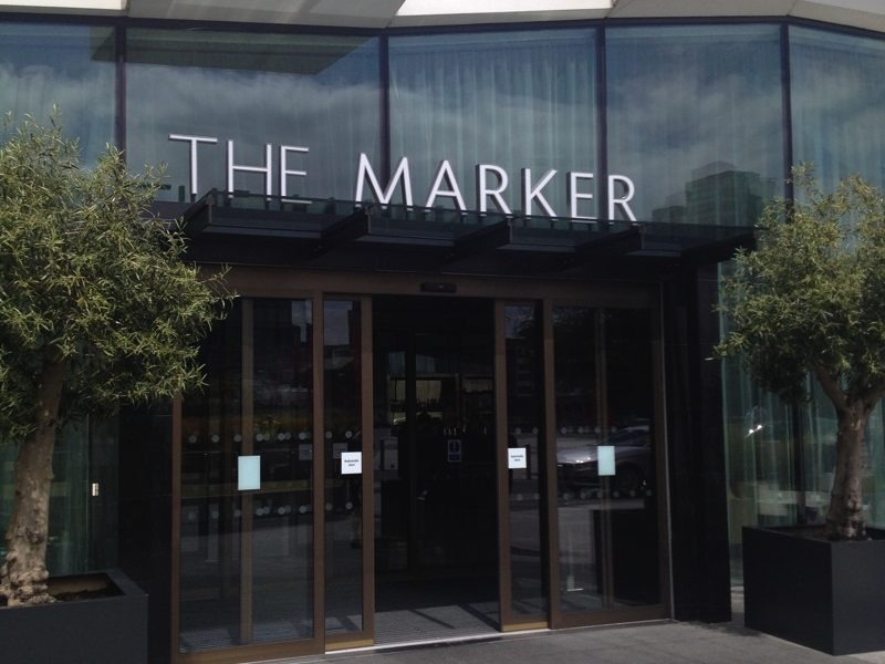 The Marker Hotel, Grand Canal Square, Dublin - Our Stay in Photo's