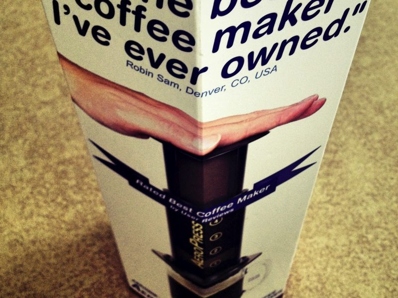 Love a Smooth, Richest Cup of Coffee, then You'll Love the Aeropress